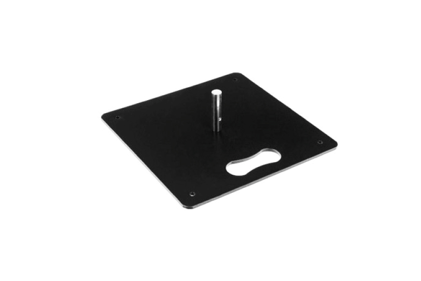 Square Flags mit Ausleger Stahlbasis-4-kg